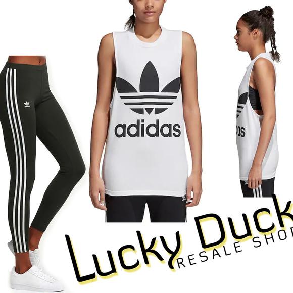 124d8d35aa06b adidas Other | Womens 3 Stripe Leggings W Tank Top | Poshmark